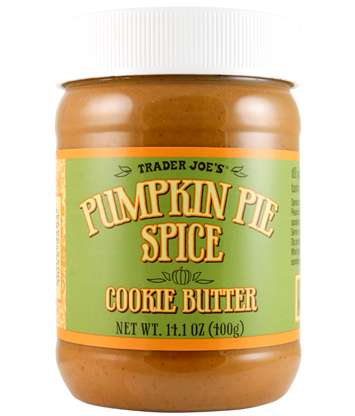 Pumpkin Spiced Cookies Spreads - Trader Joe's Pumpkin Pie Spice Cookie Butter Combines Two Desserts