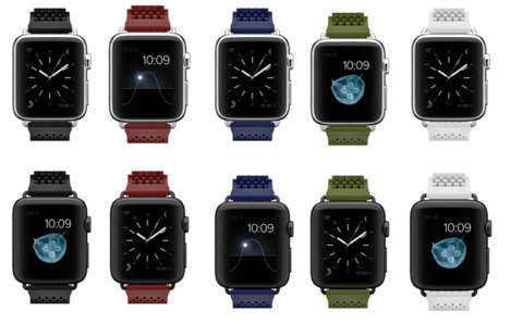 Buckle-Free Smartwatch Straps - These NooMoon Straps are Compatible with the Apple Watch