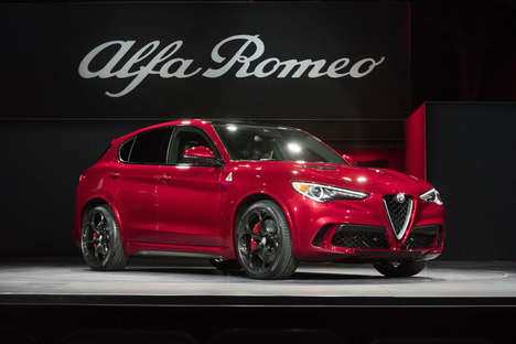 Luxurious Italian SUVs - The Alfa Romeo Stelvio Packs Power and Storage Space
