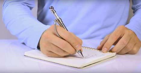 Fidget-Friendly Writing Pens - Think Ink Pens Encourage Users to Play and Maintain Productivity