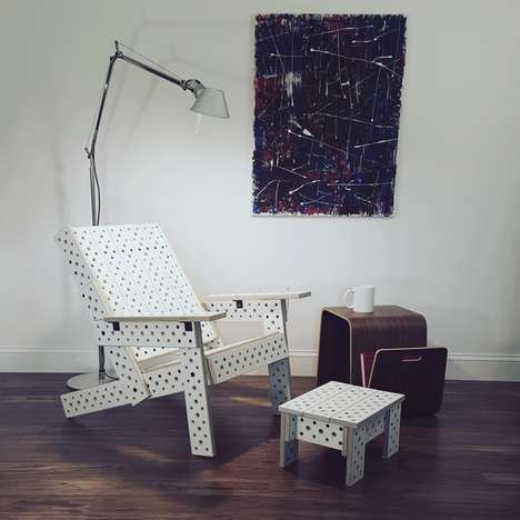 Modular Flatpack Furniture Collections - The 'MOJUHLER' Furniture Systems Adapt to Different Needs