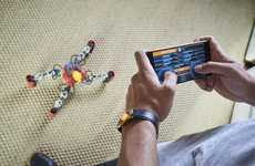 AR Spider Robots - 'MekaMon' is a Smartphone-Controlled Robot That Fights AR Enemies