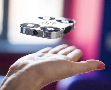 Portable Selfie-Capturing Drones