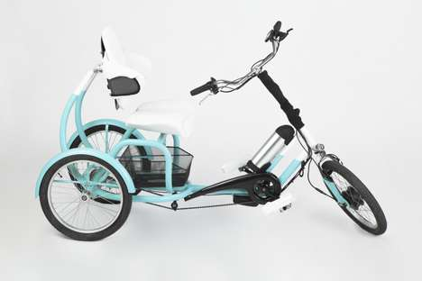 Rehabilitative Adult E-Tricycles - The CERO E-Tricycle is for Adults with Various Medical Conditions