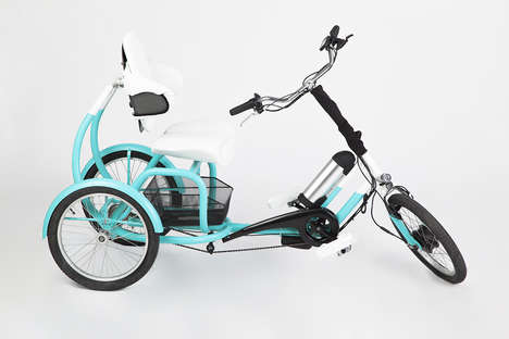 Mobility-Increasing Tricycles - The 'CERO' Trike Bike is for Riders with Physical Impairments