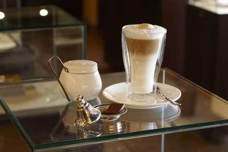Camel Milk Cafe Menus - The 'Majlis Dubai' Cafe Serves Products Made With a Cow Milk Alternative