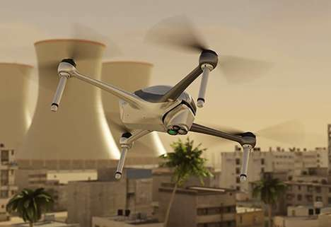 Contraband-Detecting Drones - The 'SpectroDrone' Drone Security Unit Keeps an Eye on Large Areas