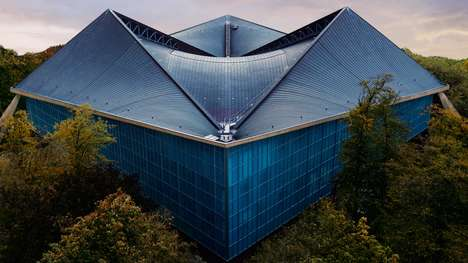 Origami Fortune Teller Buildings - The 'Design Museum' London is Shaped Like the Kid's Game