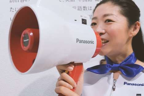 Automatic Megaphone Translators - The Panasonic Megahonyaku Translates Japanese into Other Languages