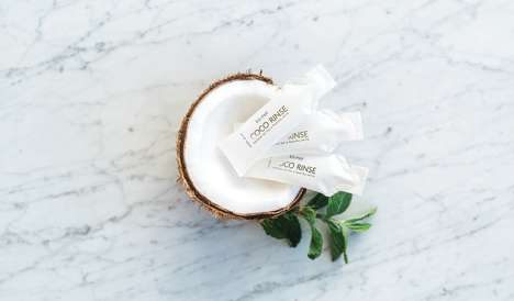 Coconut Oil Pulling Sachets - 'Kismet Essentials' Offers Natural Products for Whitening Teeth
