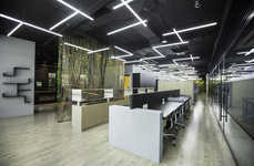 Geometric Office Interiors