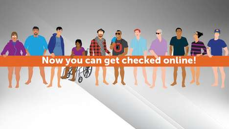 Discrete Health Test Services - 'Get-Checked-Online' Focuses on STI Testing without a Doctor