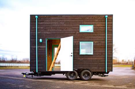 Miniature DIY Houses - The PAD 'Bunk Box' Offers Plans for Users to Create Their Own Tiny Home