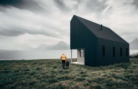 Flatpack Recreational Cabins - The Backcountry Hut Company Outdoor Cabins are Prefabricated