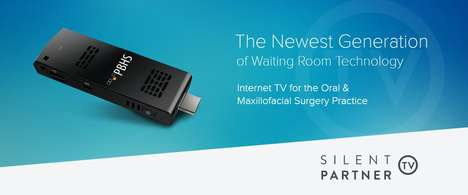Dental Practice Marketing Systems - 'Silent Partner' Shows Patients in Waiting Rooms Custom Content