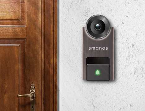 Motion-Sensing Doorbells - The smanos Smart Video Doorbell Acts as a Security Device for Homes