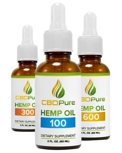 Pain-Relieving Hemp Oils - CBDPure is a Natural Product for Relieving Pain and Other Health Issues