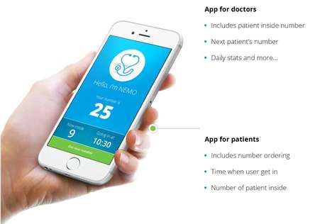 Gamified Waiting Room Apps - NEMO Makes Waiting in a Hospital or Dentist's Office Interactive