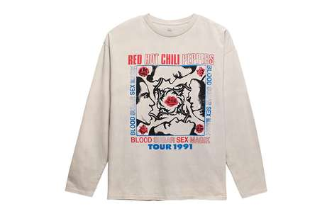 Iconic Rock Band Apparel - This New PacSun Line Tributes Beloved Groups Like the Rolling Stones