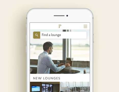 All-Access Airport Lounge Apps - Priority Pass Lets Users Access Exclusive Lounges Across the Globe