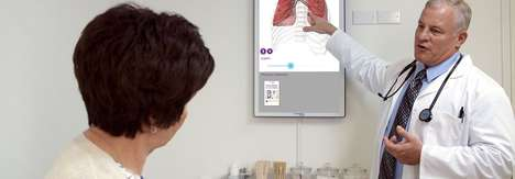 Educational Waiting Room Displays - This Technology is Meant to Improve Doctor-Patient Relationships