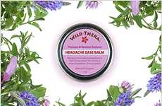 Herbal Headache Relief Balms - Wild Thera's Natural Product Eases Tension Headaches and Migraines
