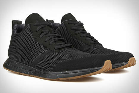 Heat-Cooling Athletic Sneakers - The York Athletics Henry Mid Shoe Features Dri-Freeze Cooling