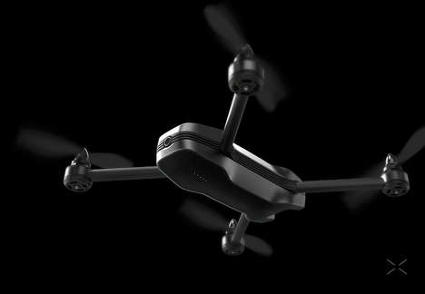 Replaceable Component Hobby Drones - The 'airX' Flying Drone Design is a Cost-Effective Unit