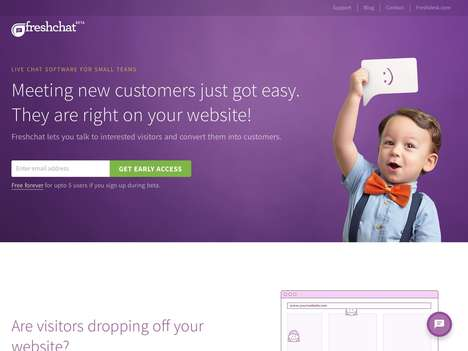 Cost-Free Chat Services - 'Freshchat' Enables Website Chat That's Oriented Towards Converting Leads