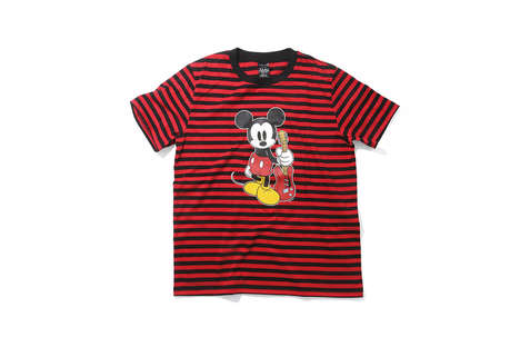 Musical Disney Apparel - This Line from NUMBER (N)INE and Disney Features a Singing Mickey Mouse