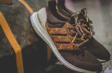 Opulent Sneaker Reworks - These Custom Louis Vuitton Sneakers Utilize the Ultra Boost Model