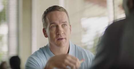 Financially Focused Footballer Ads - This Nationwide Ad Stars Former Quarterback Peyton Manning