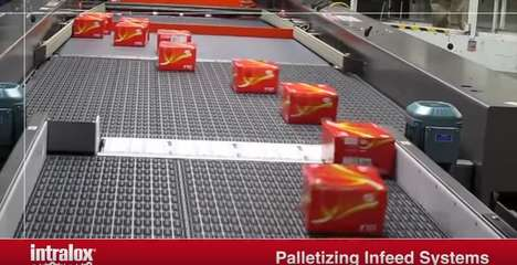 Omnidirectional Conveyor Belts - Intralox ARB Technology Moves Parcels in Any Direction