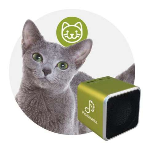 Soothing Pet Stereos - These Bluetooth Speakers Play Special Frequencies to Relieve Stress in Pets