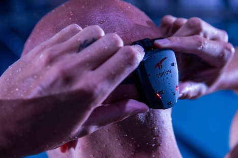 Swimming Performance Wearables - 'TritonWear' Analyzes Every Aspect of Swimmers Performances