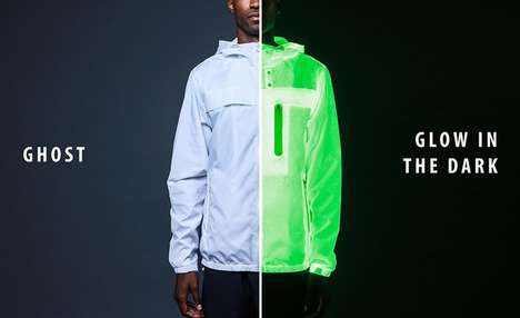 Illuminated Urban Jackets - These Jackets Were Designed for Purposes Specific to Urban Commuters