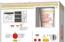 Automated Instant Noodles - Cup Noodles Vending Machine Gives Ramen Push-Button Simplicity