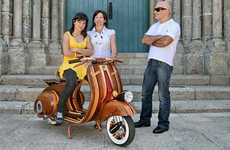 Improving The Classic Vespa With Classic Woodworking Techniques