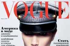 Thumb-Sucking Covers - Victoria Beckham Strikes Childish Pose for Vogue Russia
