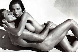 Andres & Daria are 'In Love' in Vogue Hommes Int'l