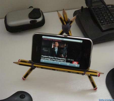 DIY iPhone Stands