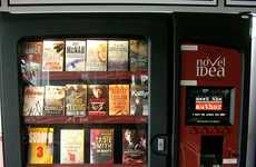 Novel Idea Dispenses Literature Via Touchscreen