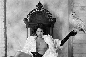 Halle Berry as a Naughty Queen  for Tom Duran