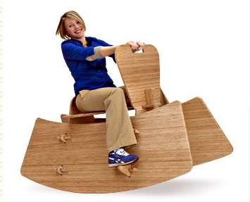 Oversized Eco Rocking Horses - Giggly Giddy-Up Toys for Grown-Ups