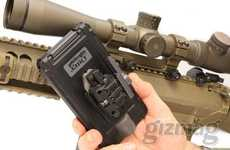This 'Bullet Fight' Military Sniper Rifle Mount is a True iPhone