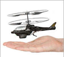 Black Ghost Helicopter Puts Fun in the Palm of Your Hand