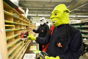 Royal Mail Workers Dress Up As Favorite Film Characters for LOVEFiLM