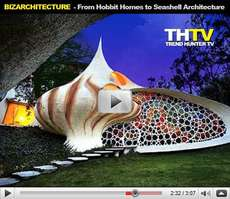 BizArchitecture - Alien Architecture, Gravity-Defying Homes and Giant Rabbits
