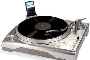 USB Turntable Lets You Store Your Vinyl On Your iPod