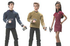 Special-Edition Barbie Dolls Released as Tie-In to Upcoming 'Star Trek' Prequel